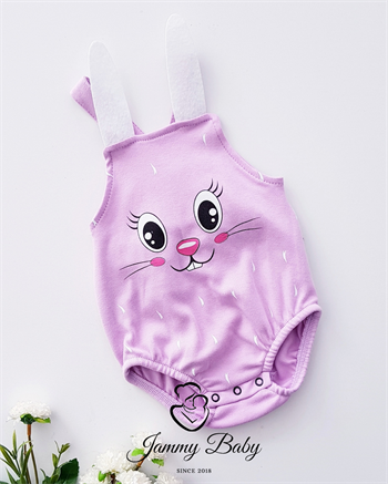 Rabbit Strappy Salopette Jumpsuit - LILAC